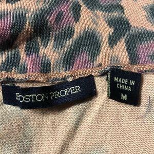 Boston Proper Sweaters - Boston Proper animal print cardigan